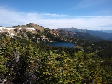 Adventure: CO | Hike | Alpine Lake with Views of Peaks, Meadows, and Cliffs