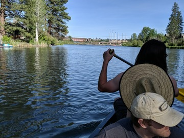 Adventure: OR | Water | Mirror Pond Canoe Tour
