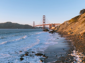Adventure: CA   Photography   Marshall's Beach Hike