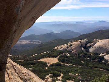Adventure: CA | Hike | San Diego | Bag a peak with a cave!