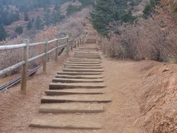 Adventure: CO | Hike | Hike and Summit the Manitou incline