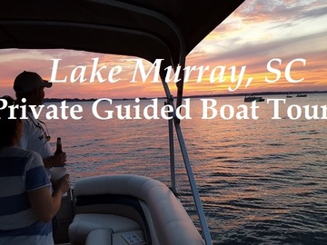 Adventure: SC | Water | Lake Murray Adventures - Pontoon Tour