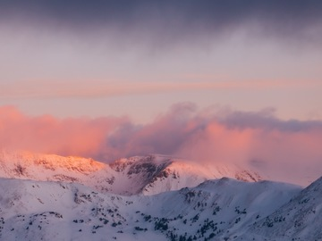Adventure: CO | Photography | Loveland Pass Sunrise Photography+ Winter Hike