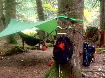 Adventure: WA | Hike | Learn Knots, Tarp Shelters, and Fire