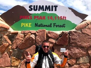 Adventure: Pikes Peak Summit Attempt