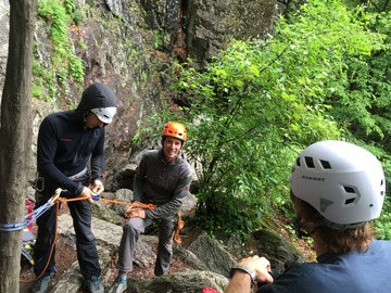 Adventure: Top Rope Anchor Construction