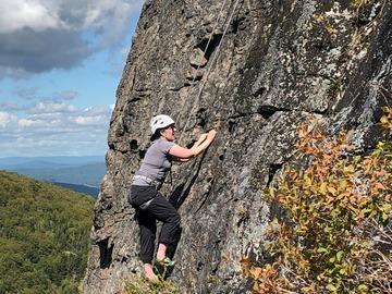 Adventure: Women's Open - Intro to Rock Climbing