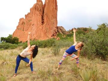 Adventure: Karen Ott Yoga Hike in Garden of the Gods