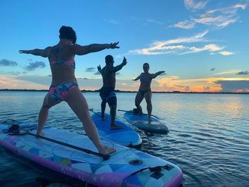 Adventure: Lagoon Paddle Board Yoga Private - Cocoa Beach